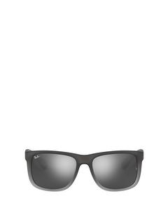 Rb4165 Rubber Grey/grey Transp. Solglasögon