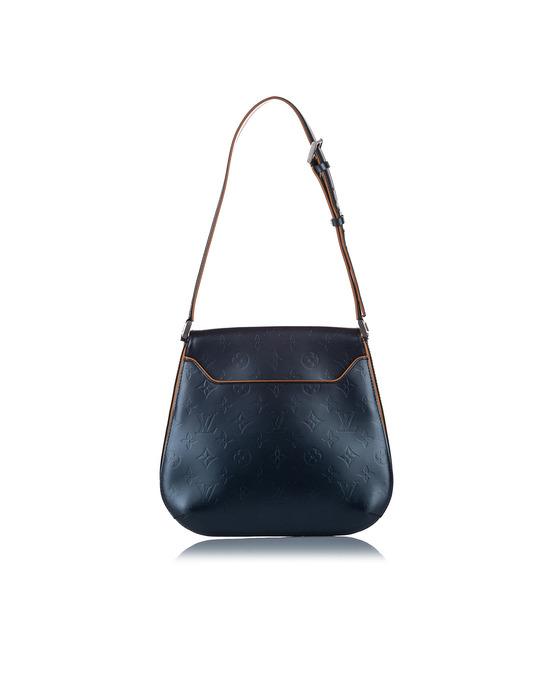 Louis Vuitton Louis Vuitton Monogram Mat Webster Street Bag Blue