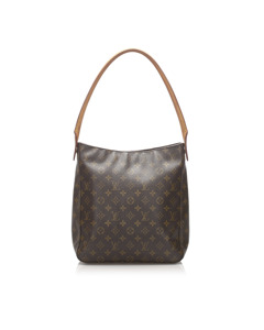 Louis Vuitton Monogram Looping Gm Brown