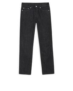 Standard Rinsed Black Jeans Black