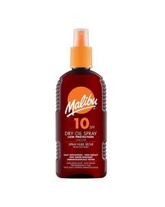 Malibu Dry Oil Spray Spf10 200ml