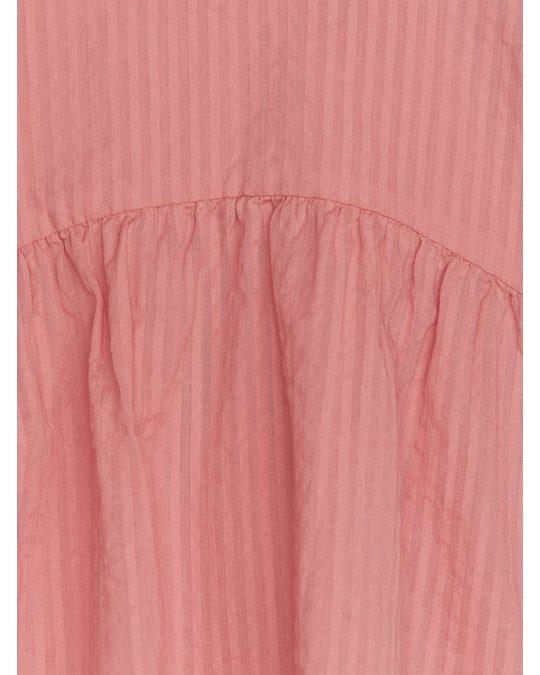 Arket Seersucker-Bluse Rosa