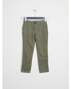 Classic Slim Fit Chino Deep Lichen Green