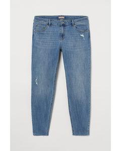 H&M+ Skinny Regular Jeans Blau