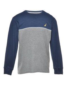 Two Tone Nautica Plain T-shirt