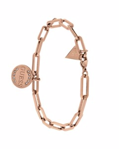 Guess Stalen Roseplated Closed Forever Armband