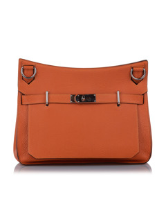 Hermes Clemence Birkin Orange