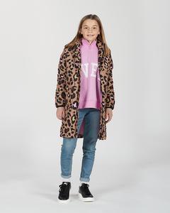 K. Quilted Hood Coat Multi Leo