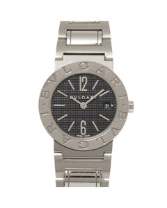 Bvlgari Diagono Stainless Steel Watch Silver