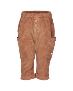 En Fant Pants Leather Brown