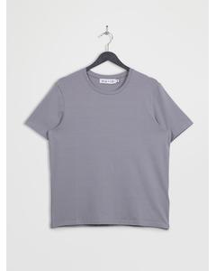 Crew Neck Short Sleeve T-shirt Grey