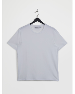 Crew Neck Short Sleeve T-shirt White
