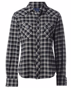 1990s Flannel Ralph Lauren Western Shirt