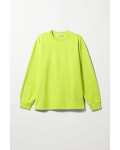 Sweatshirt Nathan Leuchtende Limette