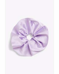 Large Scrunchie Purple