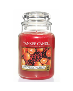 Yankee Candle Classic Large Jar Mandarin Cranberry Candle 623g