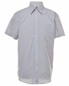 Blue Ben Sherman Checked Shirt