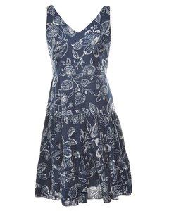 Chaps Floral Print Dress