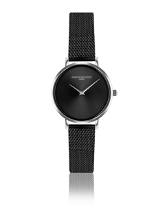 Iris Ultra Thin Black Watch