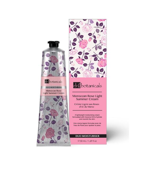Dr Botanicals Moroccan Rose Light Summer Cream Clear