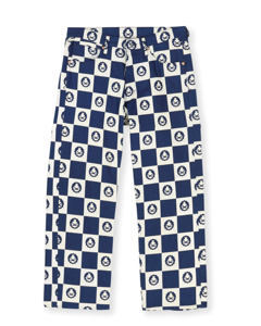 Thor Cropped Checkerboard Dry