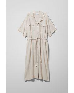 Order Shirt Dress Beige