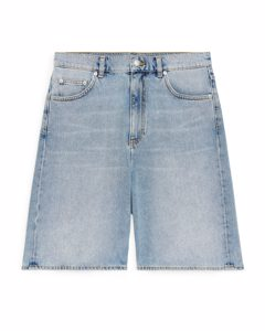 Denim Shorts Light Blue