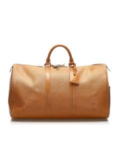 Louis Vuitton Epi Keepall 50 Brown