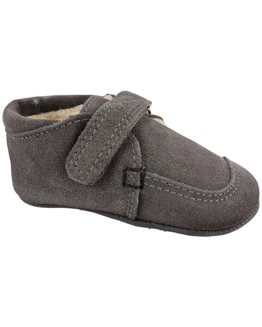 EN FANT Epsilon Velcro Slippers Grey