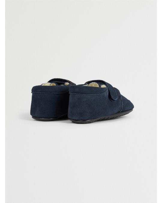 EN FANT Epsilon Velcro Slippers Navy