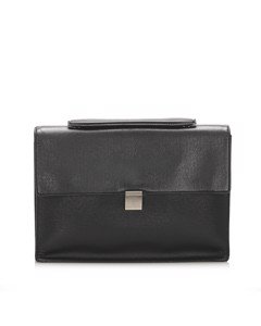 Louis Vuitton Taiga Porte-document Angara Briefcase Black
