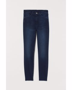Embrace High Ankle Jeans Donkerblauw