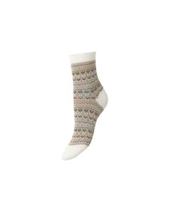 Multicolour Athena Sock White