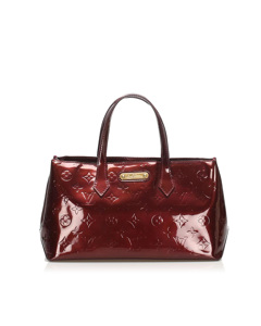 Louis Vuitton Vernis Wilshire Pm Red