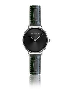 Iris Ultra Thin Graphite Watch