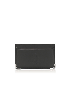 Cartier Must De Cartier Leather Card Case Black