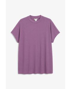 Oversize-T-Shirt Lila