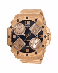 Invicta SHAQ 33868 Herrenuhr - 58mm - Mit 140 diamanten