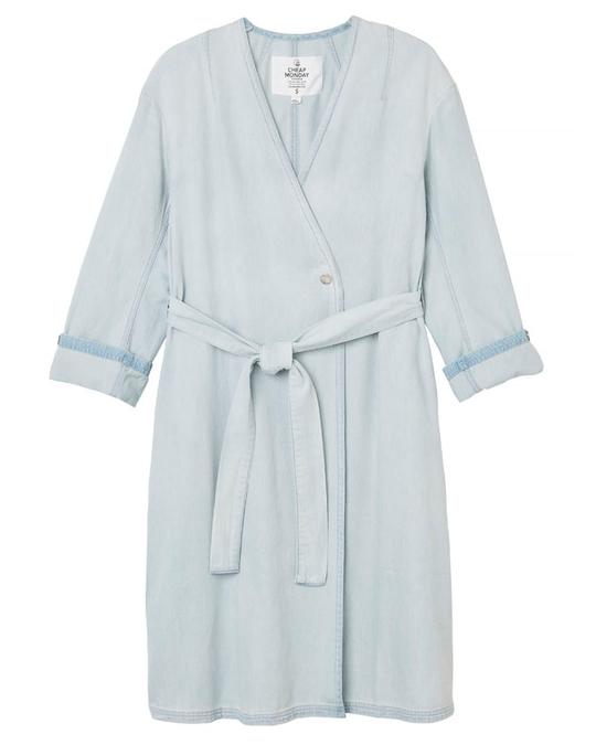 Cheap Monday Montage Coat Lt Blue