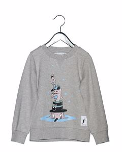 Hat Dogs Sweater Grey Melange