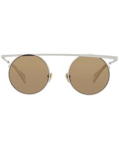 Yohji Yamamoto Mint Unisex Gold Sunglasses Yy7038 49403 49-21-140 Mm