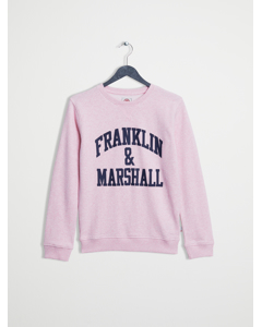 F And M Sweater  Powder Pink Marl
