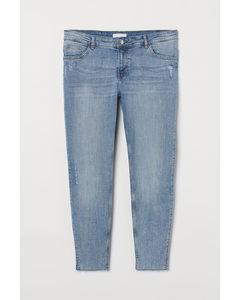 H&m+ Skinny Regular Jeans Licht Denimblauw