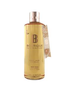 Boutique Amber, Musk & Vanilla Body Wash 500ml