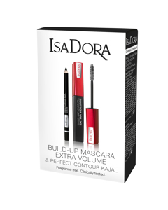 Gift set Build Up Mascara & Perfect Contour Kajal Black