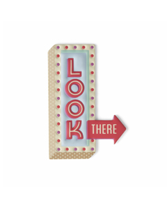 Look There - Sticker