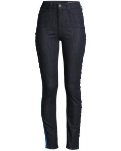 Skyler Side Sequin Rinse Jeans Blue