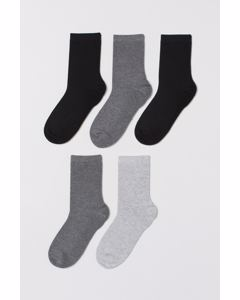 Low Lucas 5-p Anklesock Grey