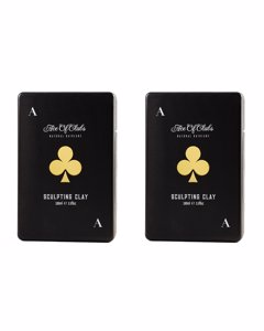 2-pack Ace Of Clubs Natural Haircare Sculpting Clay 100ml