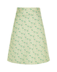 The A Line Skirt  Green